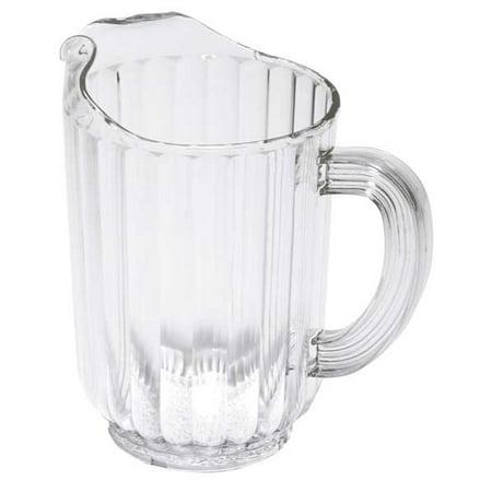 Beverage Pitcher, 54 oz. Polycarbonate Clear RUBBERMAID ()