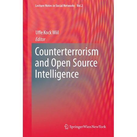 Counterterrorism and Open Source Intelligence -