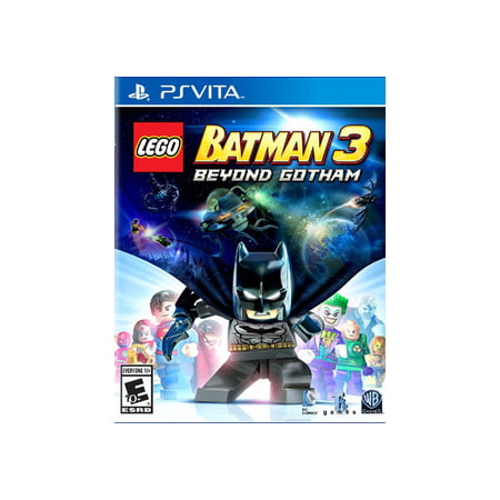 LEGO Batman 3: Beyond Gotham, WHV Games, PS Vita, (Best Games To Play On Ps Vita)