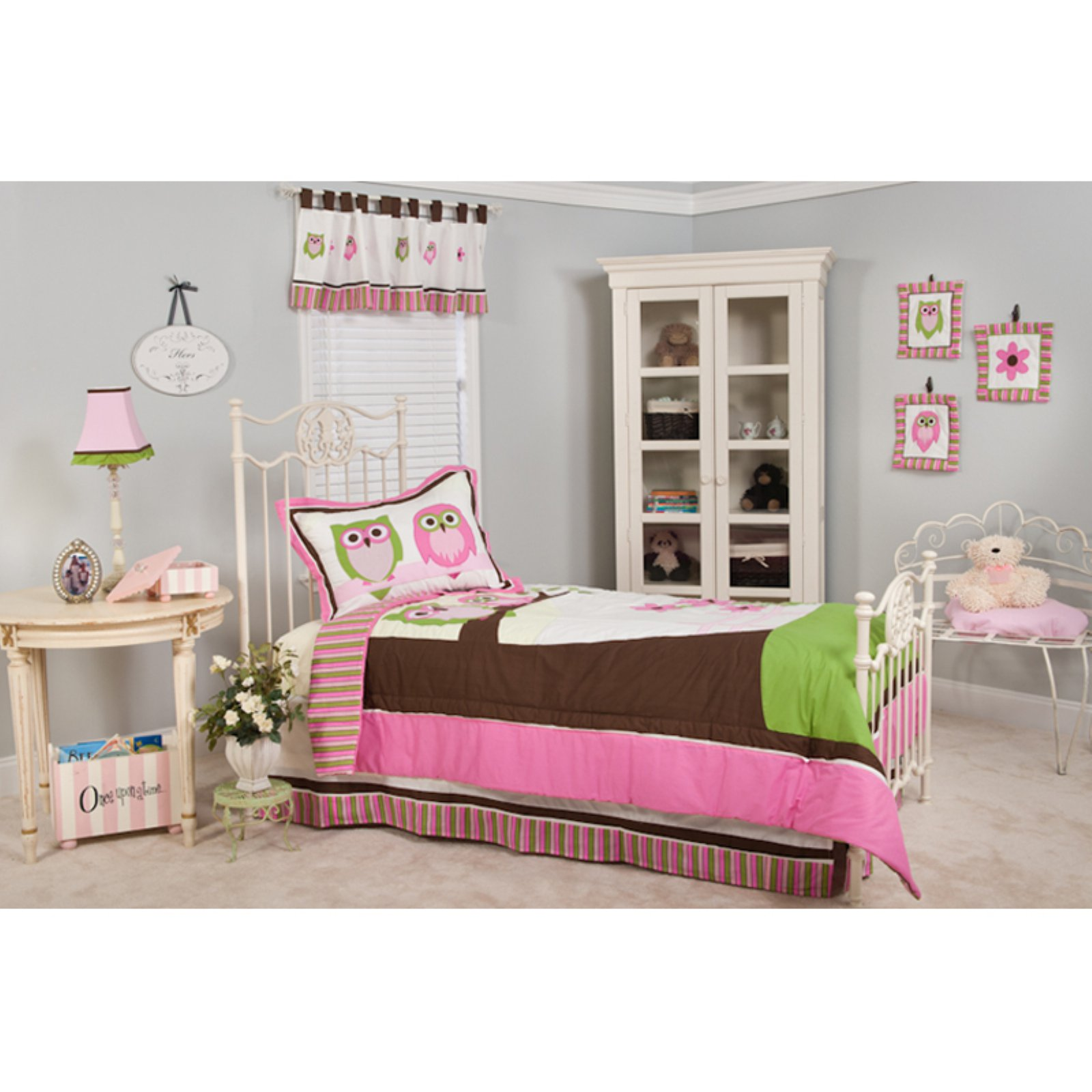 Sweet Dreams Owl Twin 3-piece Bedding Set