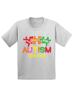 11c9eebb0 Product Image Awkward Styles Autism Awareness T shirts Kids Toddler Support  Autism Shirt Toddler Boy Autism Awareness Tshirt