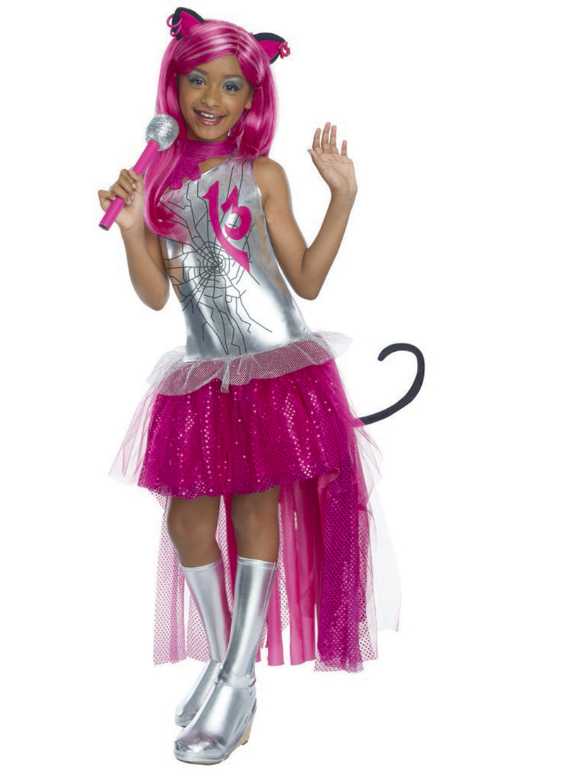 Monster High Catty Noir Girls' Child Halloween Costume by Generic