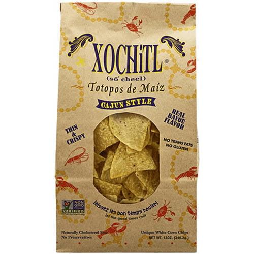 Xochitl Cajun Style Salsa Corn Chips, 12 oz (Pack of 10)
