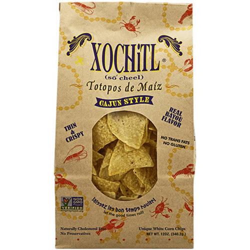 Xochitl Cajun Style Salsa Corn Chips, 12 oz (Pack of 10)