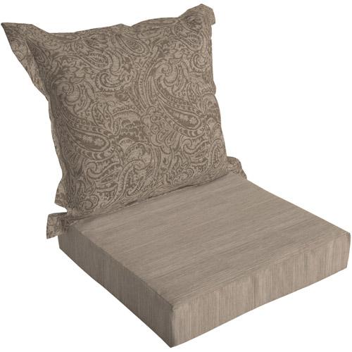 arden outdoor deep seat chair cushion se walmart com