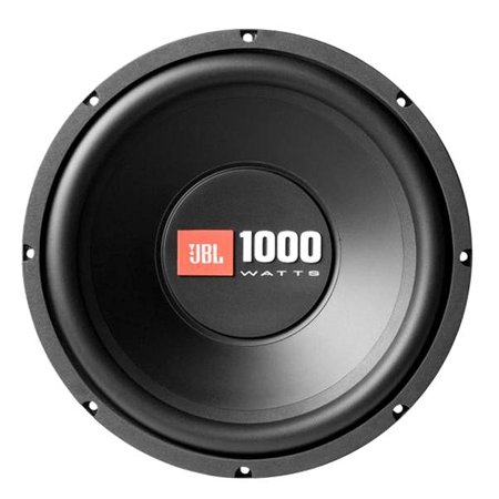 "JBL CS1214 1000-watt, 12"" Car Audio Subwoofer, Black"