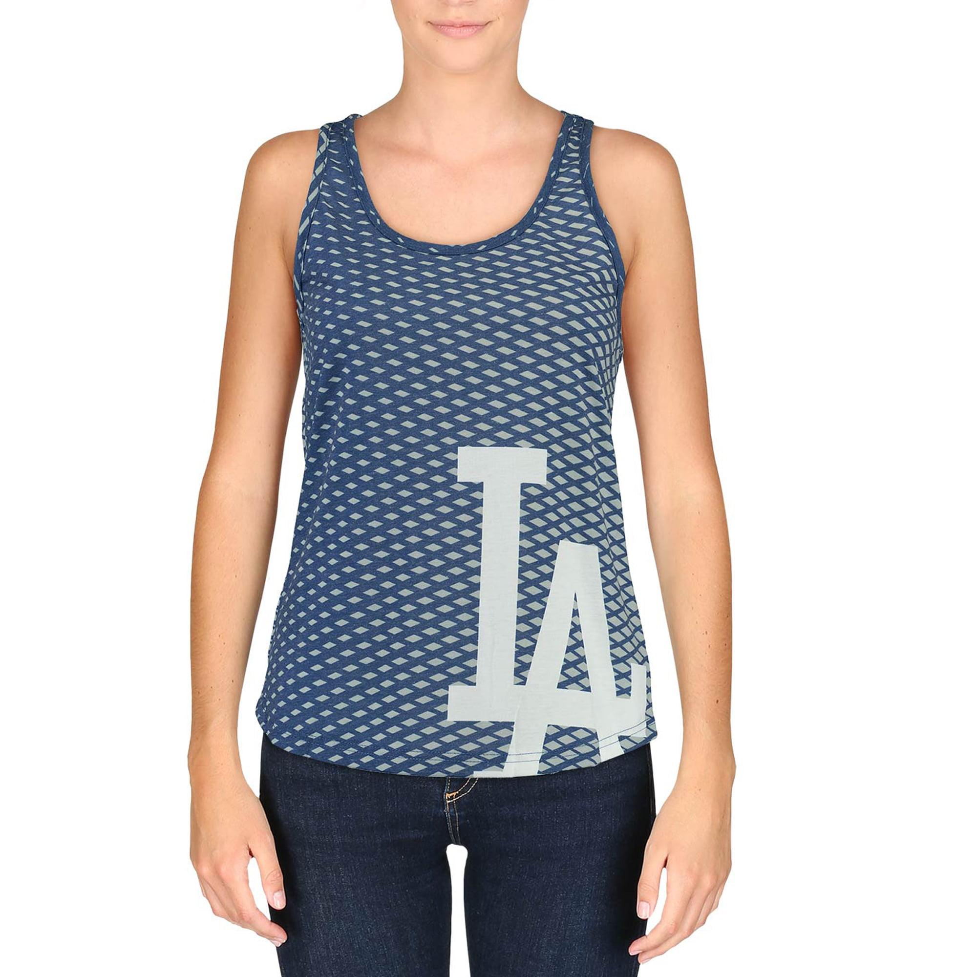 Los Angeles Dodgers Women's Diamond Racerback Tank Top - Royal