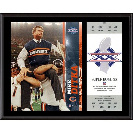 Mike Ditka Chicago Bears 12