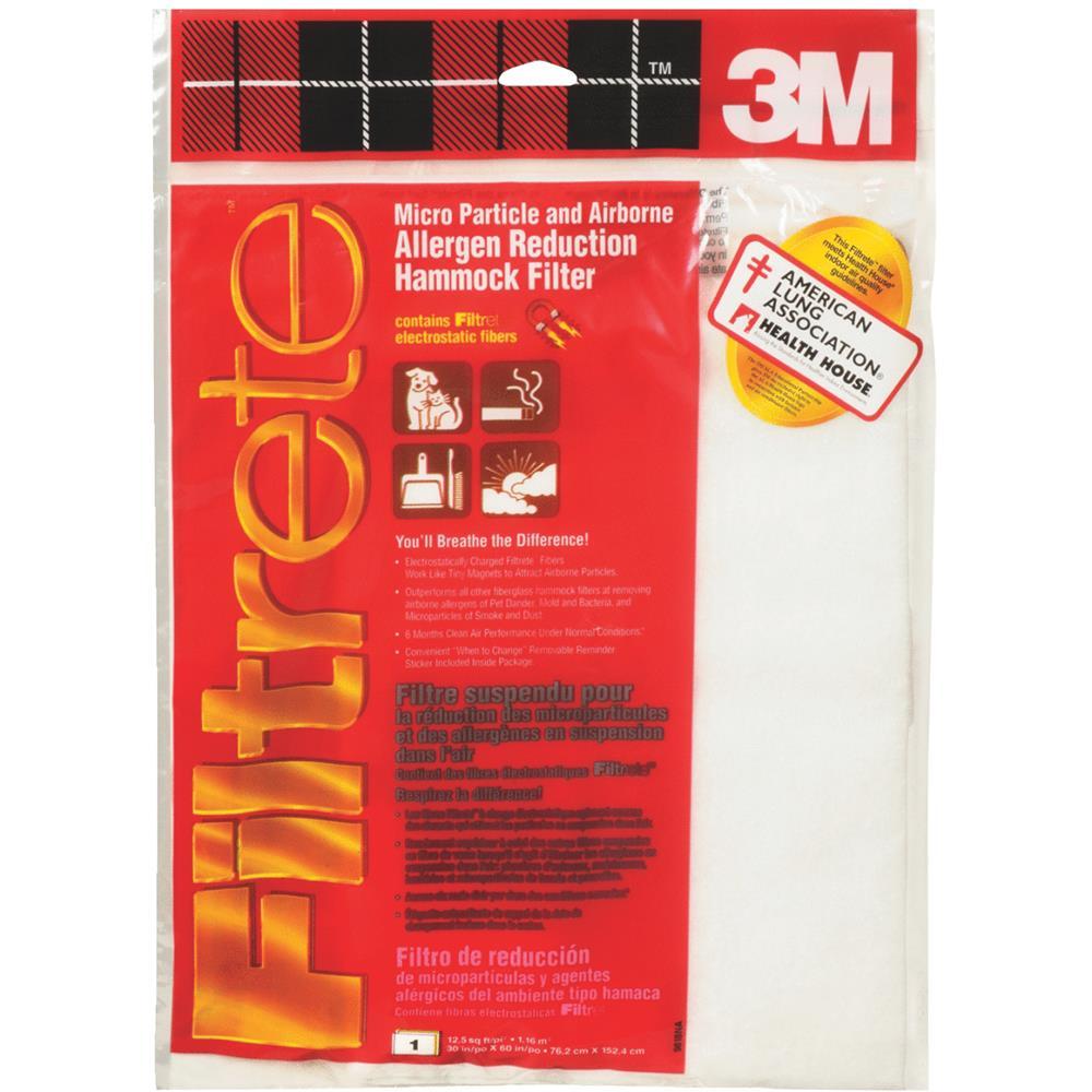 """3M 30""""x60"""" Hammock Filter 9818NA"""