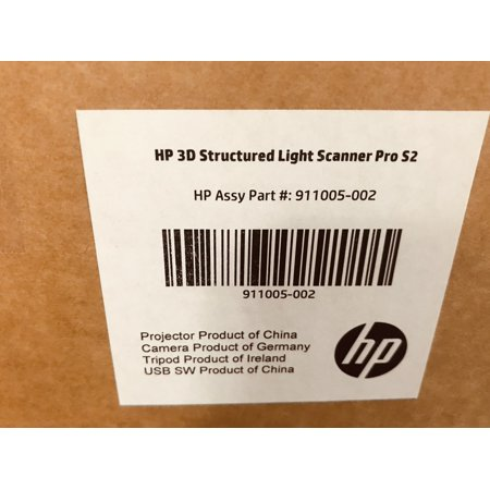 HP 3D Structured Light Scanner Pro S2 - (Best Low Cost 3d Scanner)