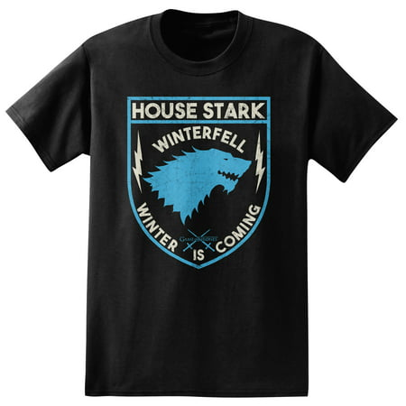 hbo's game of thrones men's house of stark t-shirt - Game Of Thrones Outfits