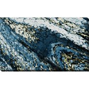 """Picture Perfect International """"Blue Surge"""" Stretched Canvas Wall Art"""