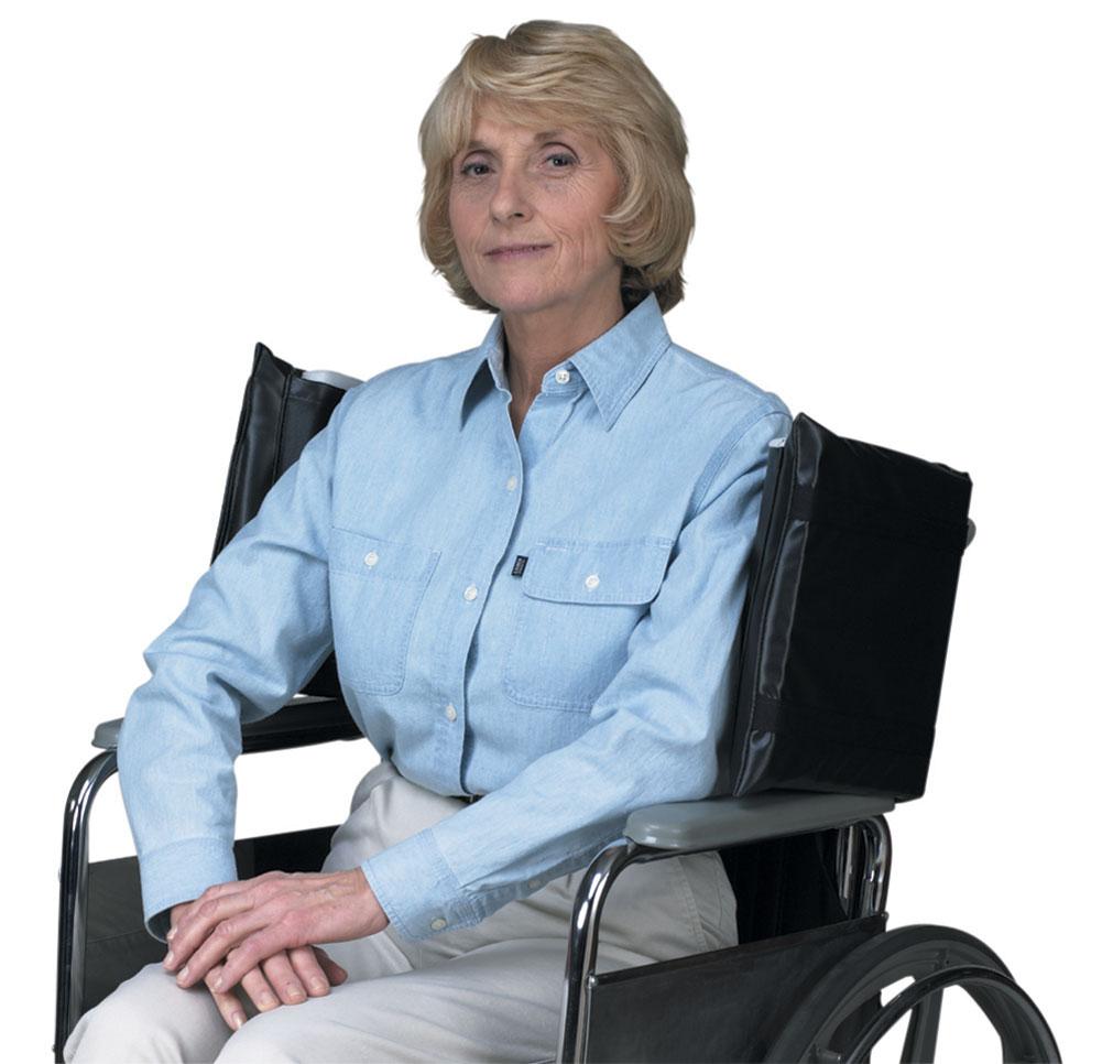 AliMed Wheelchair Side Wings, Standard