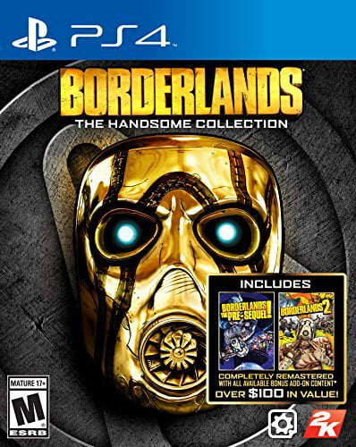 Borderlands: The Handsome Collection, 2K, PlayStation 4, 710425475337 by Take 2