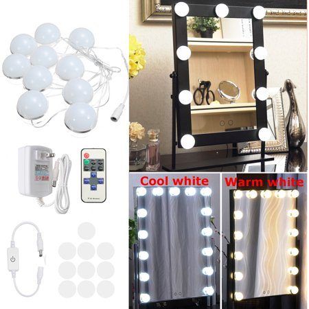 10 Bulbs 10 8ft Hollywood Super Star Style Makeup Mirror