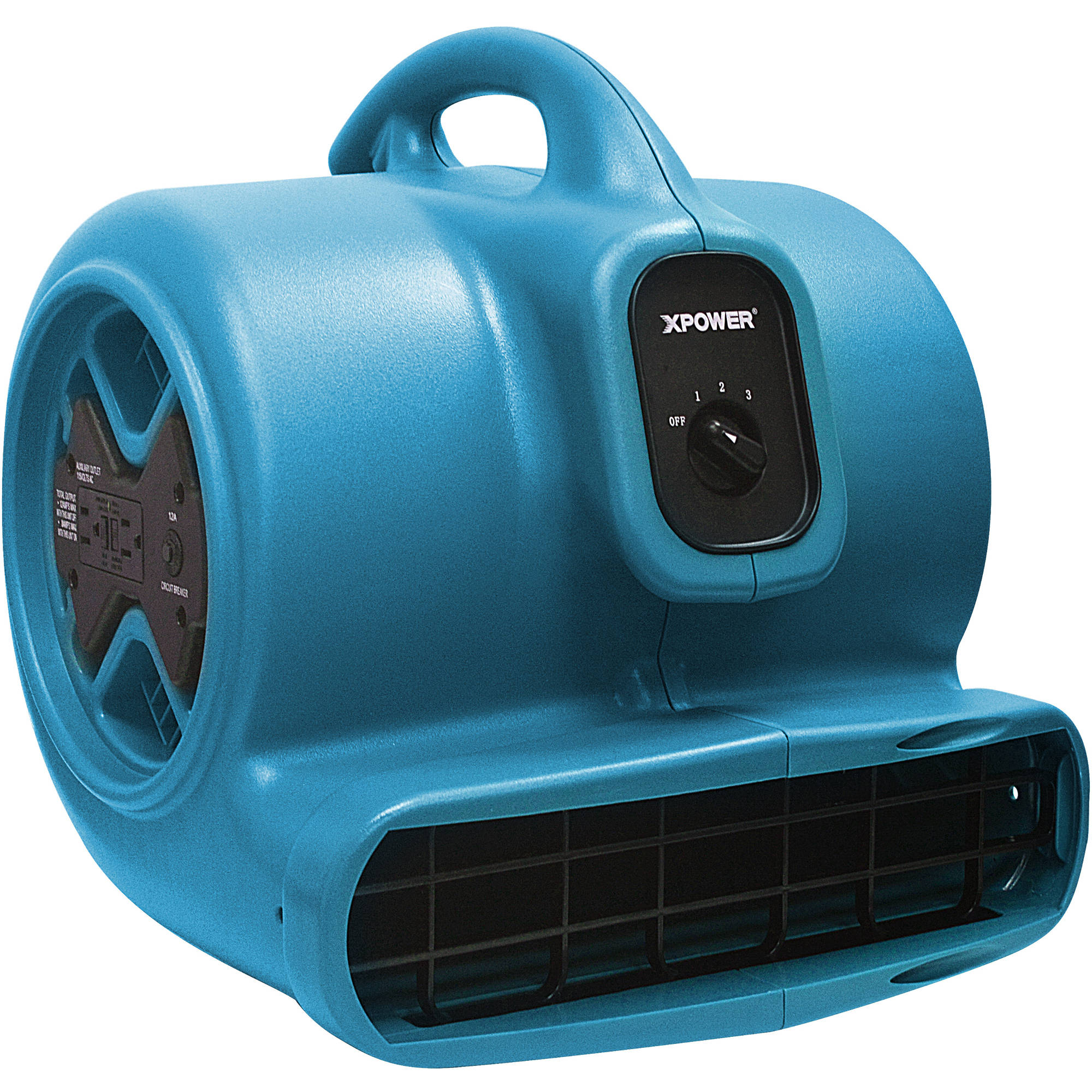 XPOWER X-600A 1/3HP Air Mover, Blue