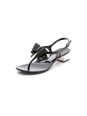 255a382a66b6 Product Image Salvatore Ferragamo Perala Bow Jelly Sandals (9