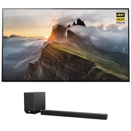 Sony Xbr65a1e 65   4K Ultra Hd Smart Bravia Oled Tv  2017 Model  W  Sony Ht St5000 7 1 2Ch 800W Dolby Atmos Sound Bar