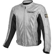 Parker Synergies Gold Wing Touring Mens Mesh Jacket Gray 4XL