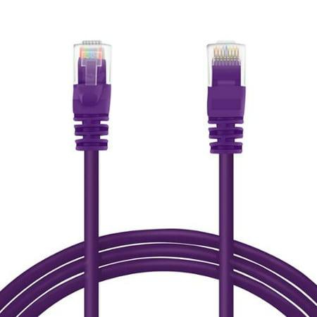 Bb-c6mb-7wht white Battleborn 7 Foot Cat6 Ethernet Network Patch Cable Premium