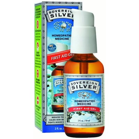 Sovereign Silver First Aid Gel, 2 Oz