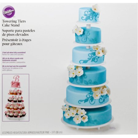 Wilton Cake Assembly Set Towering Tiers Cake Stand, 1 Ct