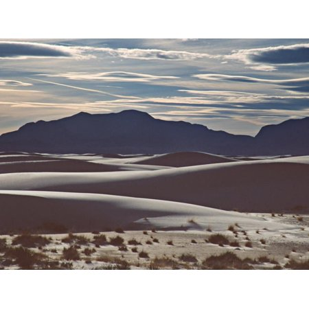 White Sands National Monument at Sunset, New Mexico, USA Print Wall Art By Charles (Sn 33 Mexican Sand)