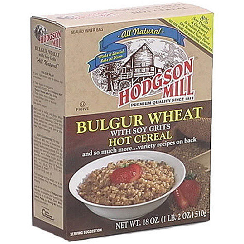 Hodgson Mill All Natural Bulgur Wheat With Soy, 18 oz  (Pack of 6)