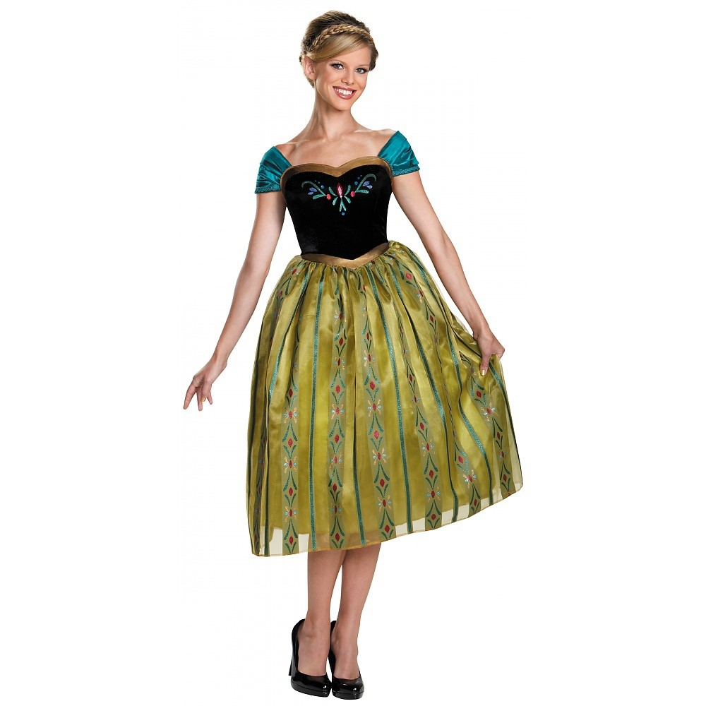 Anna Coronation Adult Costume - X-Large