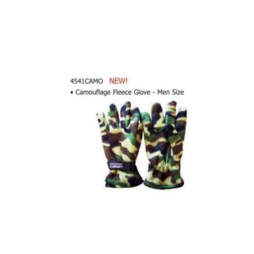Mens Camouflage Fleece Gloves (Pack of 60)