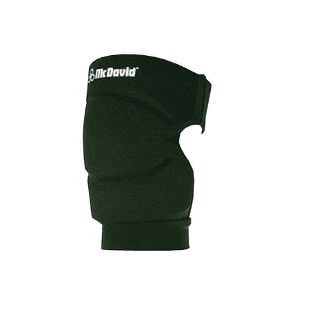 - McDavid 643 Pair Deluxe Knee Elbow Pads Dark Green Large