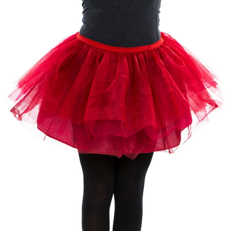 Layered Red Petticoat Women's Adult Halloween - Lawyer Halloween Costumes