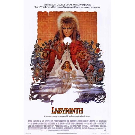 Labyrinth POSTER Movie Mini Promo - Labyrinthe Halloween