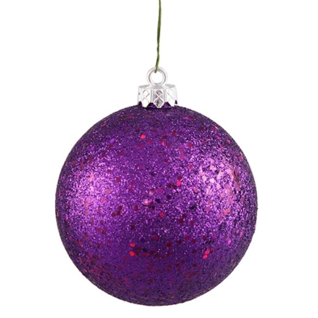 Queens of Christmas 60mm Ball Ornament with Wire - Pack of 12