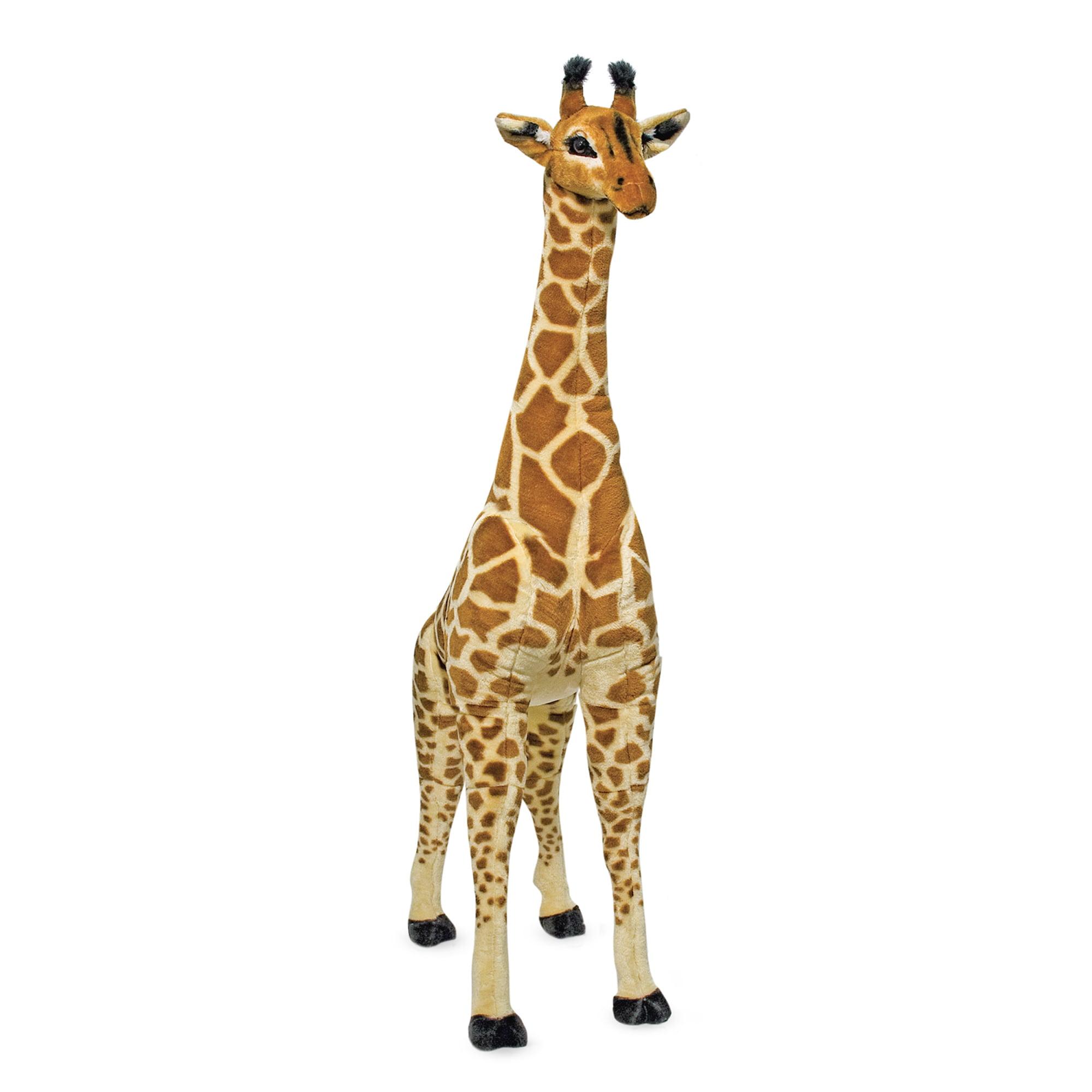 Melissa & Doug Giant Giraffe (Playspaces & Room Decor, Lifelike Stuffed Animal, Soft Fabric, Over 4 Feet Tall) by Melissa & Doug