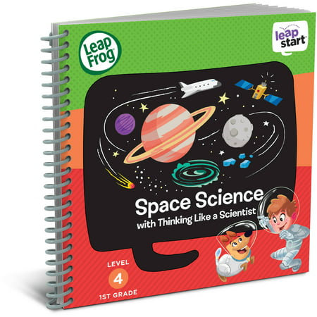LeapFrog LeapStart 1st Grade Activity Book: Space Science and Thinking Like a (Like Frogs)