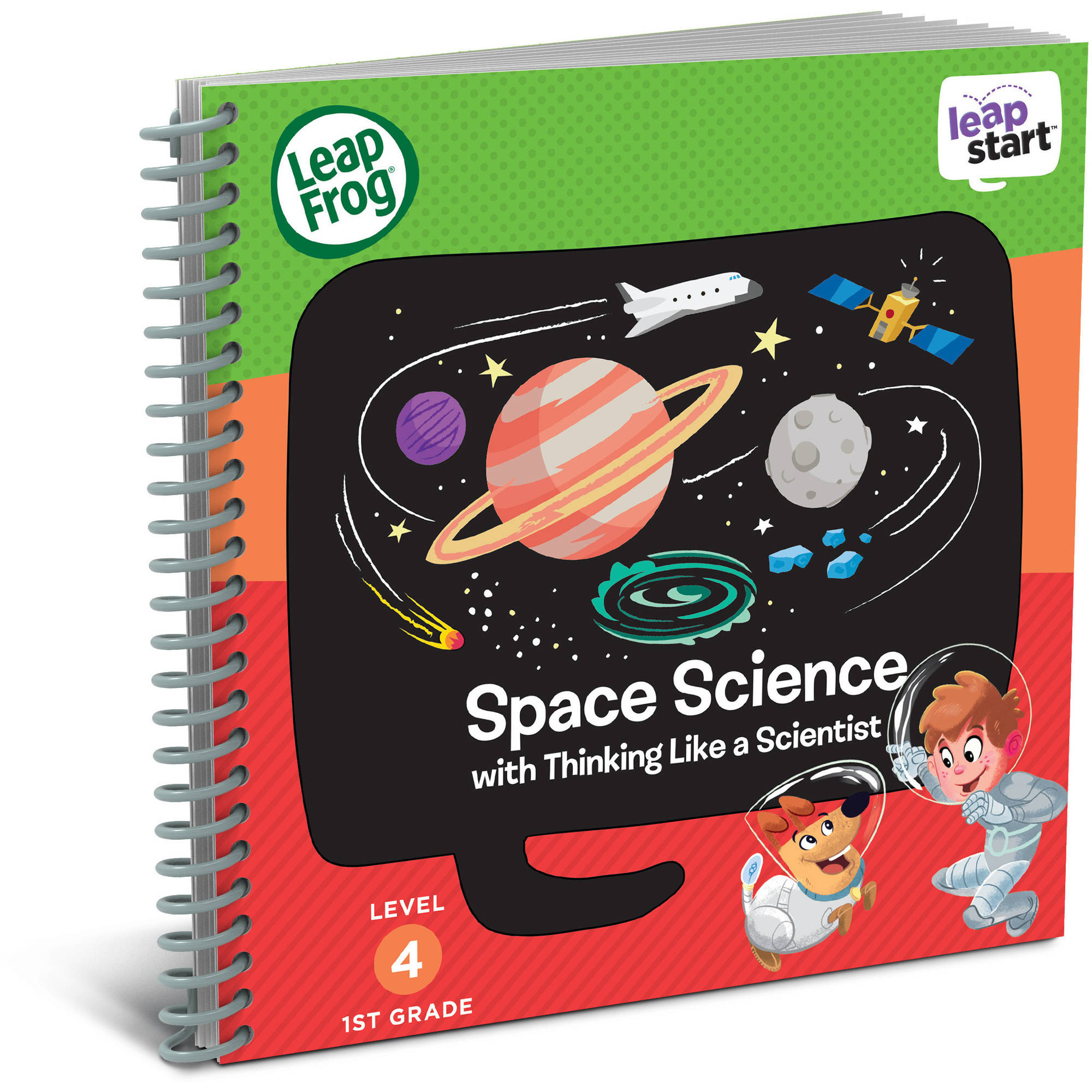 LeapFrog LeapStart 1st Grade Activity Book: Space Science and Thinking Like a Scientist