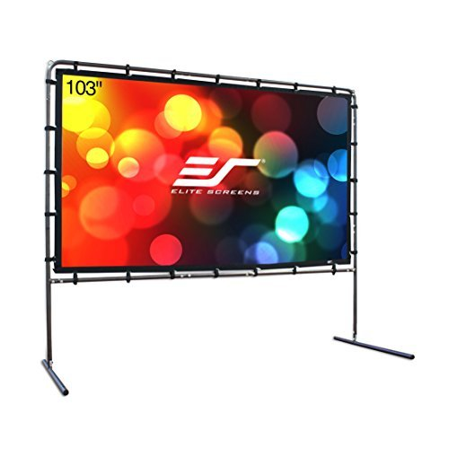 Elite Screens Yard Master Series, 123-in 16:9, Foldable O...