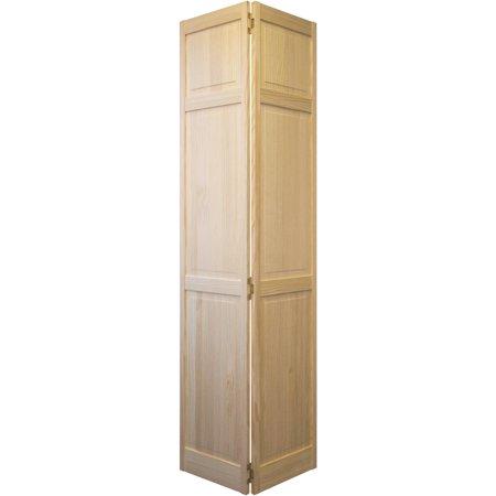 Jeld Wen Pine Raised Panel Bifold Door
