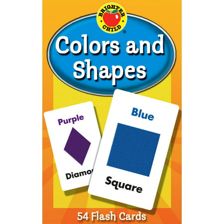 Brighter Child Flash Cards: Colors and Shapes Flash Cards (Other)