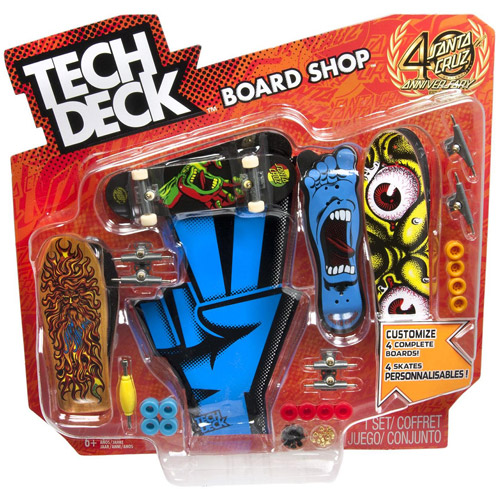 Tech Deck Board Shop Colors And Styles May Vary Walmart Com