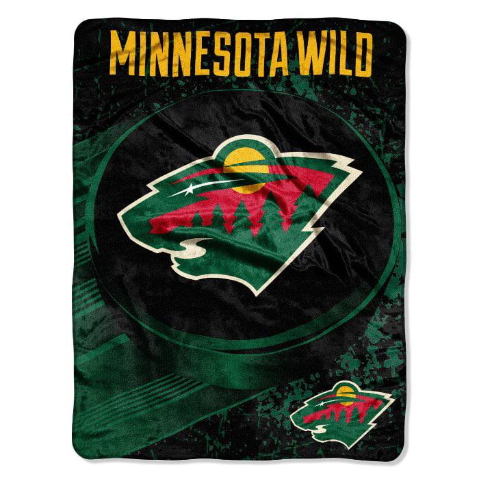 "NHL Minnesota Wild ""Ice Dash"" 46"" x 60"" Micro Raschel Throw"