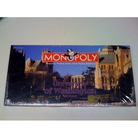 Washington Monopoly - Monopoly - University of Washington edition
