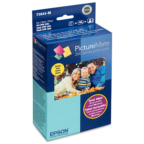 Epson PictureMate Print Pack, Matte