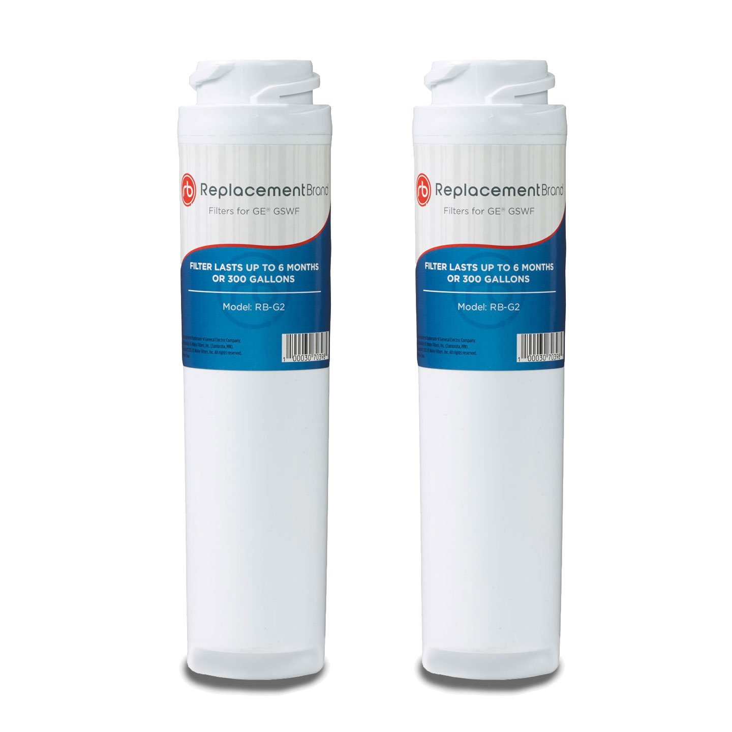 GE GSWF SmartWater Comparable Refrigerator Water Filter 2...