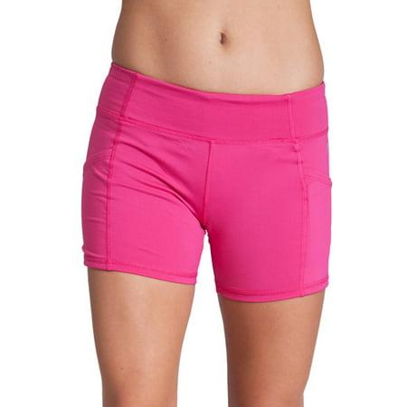 c6943f85637c76 Flying Street - Active Pocket Legging Shorts - Walmart.com