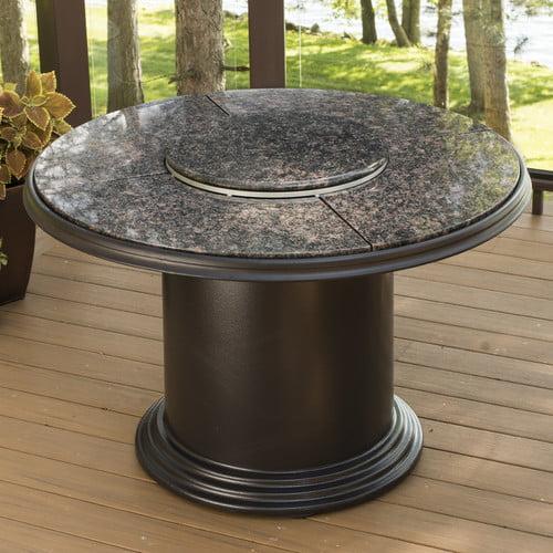 The Outdoor GreatRoom Company Fiberglass Gas Firepit Table by The Outdoor GreatRoom Company