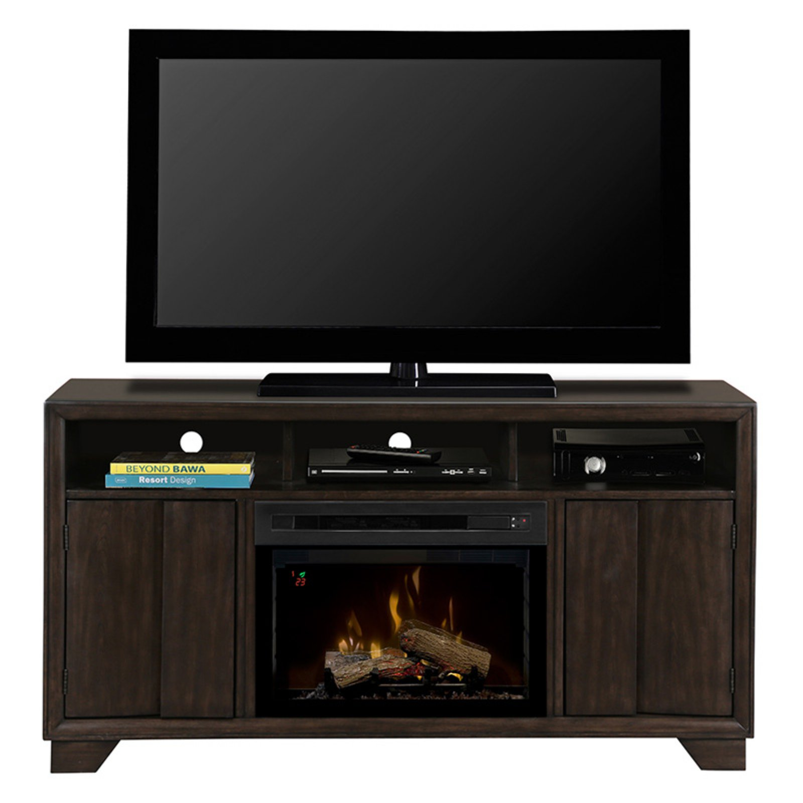 Dimplex Bayne Entertainment Center Electric Fireplace
