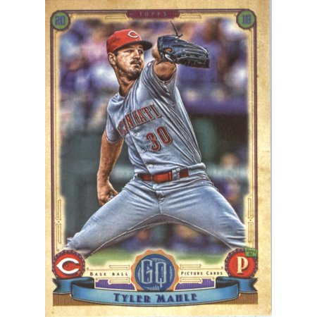 2019 Topps Gypsy Queen 88 Tyler Mahle Cincinnati Reds Baseball Card