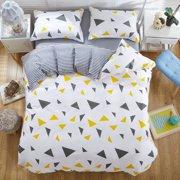 4pcs Cute Bed Linen Sets Duvet Covers Bed Sheets Pillowcase Bedclothes Comforter Pure Cotton Twin Qu